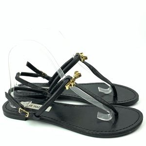 Steve Madden sandals Daisey size 6.5 t-strap bow